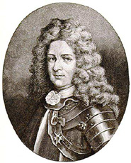 Pierre Le Moyne d'Iberville. �Public Domain. Portrait by G. D. Warburton - National Archives of Canada, C-026026