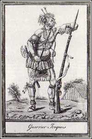 Iroquois Warrior. (From