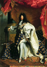 Louis XIV of France. (Painting by Hyacinthe Rigaud. � Public Domain.)